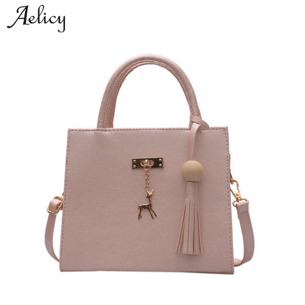 3b890496be Aelicy Luxury High Quality Women Shoulder Bags Tassel Women Deer Crossbody  Bag Woman Designer Bags Fake