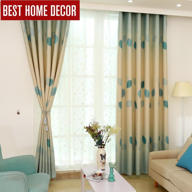 ₩Japón estilo cortinas para ventana terminado cortinas de ventana