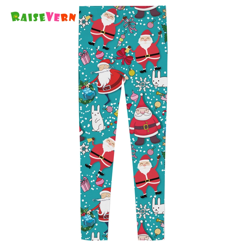 2018 Halloween Christmas Leggings Baby Girls Cartoon Trousers Kids Sweatpants 6-12Y Children's Slim Fit Sports Lont Pants Legin