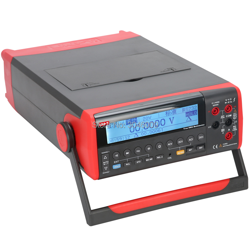 UNI-T UT805A Desktop Digital Multimeter High Precision True RMS Multimeter Liquid Crystal Display USB / RS232 Data Transfer