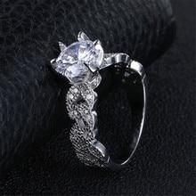 Zircon Jewelry Wedding Engagement Rings