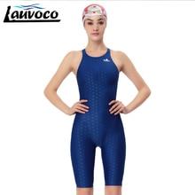 Yingfa  Professional Sport Swimsuit Plus Size 3XL Racing Swimwear Women Sharkskin One Piece Competitive Racing Swimming Suit