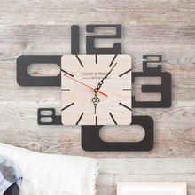 Large Watch Wall Clock Modern Design Kitchen Antique Wood Silent Clocks Home Saat Wall Watch  Klok Living Room Decoration 5587 nordic large wall clock modern design 3d kids silent living room clocks home decor kitchen wall watch klok farmhouse decor 5586
