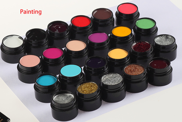 M.ladea Painting Color Gel Nail gel polish drawing UV Gel 5g 23 colors line varnish High concentrations Bright-coloured colour