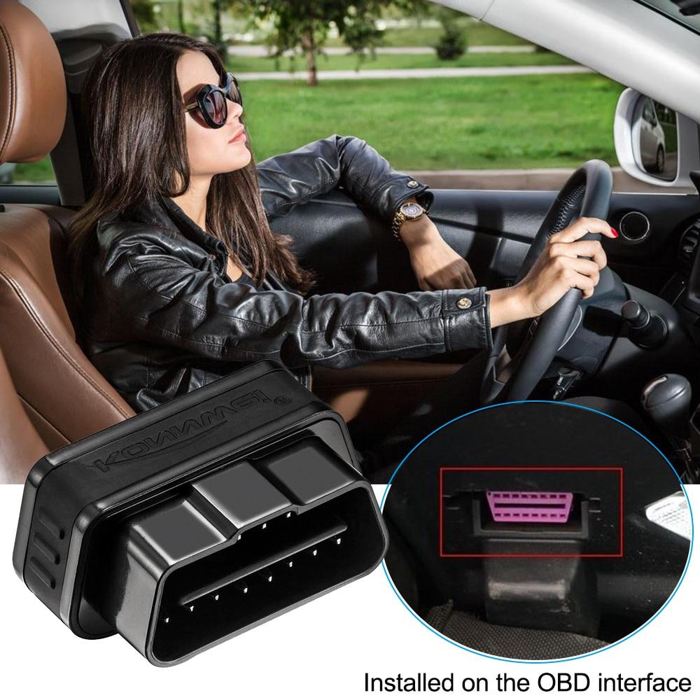 KONNWEI KW901 Automotive ELM327 V1.5 Bluetooth OBD2 Scanner Car OBD 2 Reader Scan Diagnostic Tool Engine Analyzer
