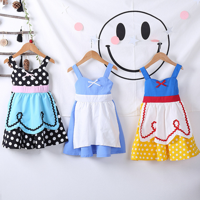 f3761f3cb6 2019 Summer Kawaii Kids Cute Frock Princess Dress Clothes for Baby Girls  Dresses Age 2 3 4 5 6 7 8T Years Old Children Clothing