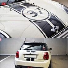 Capó del coche y etiqueta trasera para mini cooper s R55 R56 R60 R61 F55 F56 personalizado