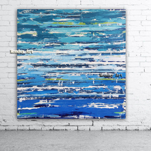 цена на large Size Hand painted High Quality Abstract Wall Art Oil Painting on Canvas Abstract blue Oil Painting for Living Room decora