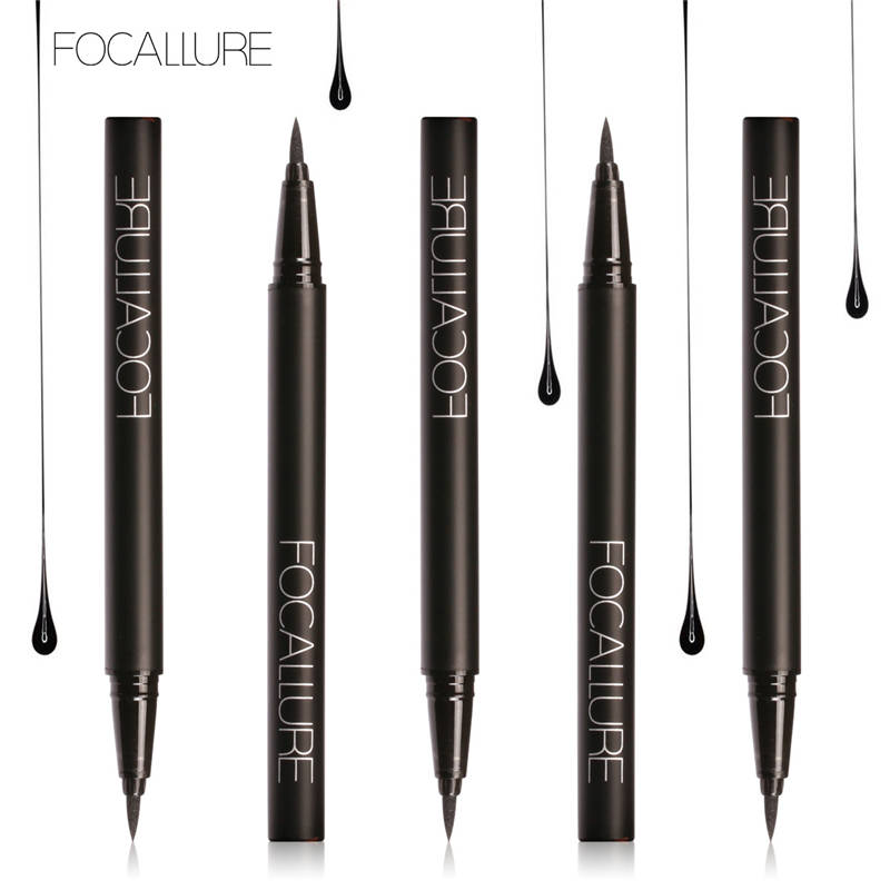 Waterproof Eyeliner Black Liquid Eye liner Pencil 1g Cosmetics Beauty Makeup Brand FOCALLURE цены