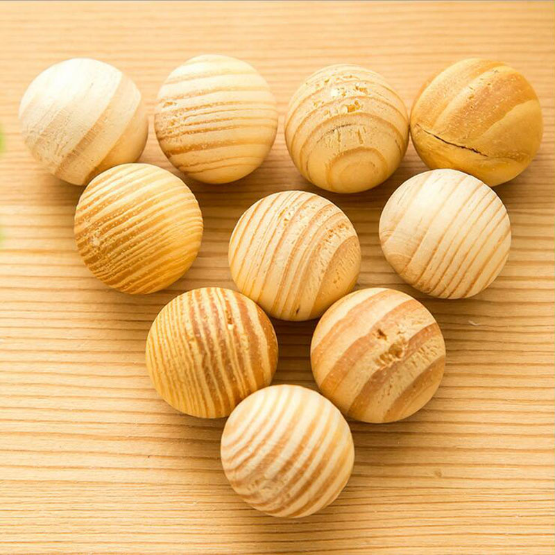 20Pcs/Lot Incense Ball Natural Incense Sandalwood Ball Sachets Aromatic Wardrobe Car Aromatherapy Desiccant Sachet