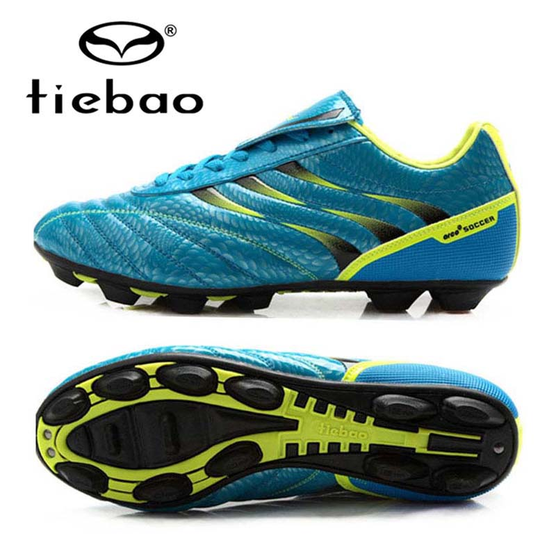TIEBAO Professional Outdoor Sport Soccer Shoes Size 36-43 Botas De Futbol Sneakers Men Women FG & HG Soles Football Boots