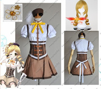 Puella Magi Madoka Magica Mami Tomoe Cosplay Costume Custom Made Any Size