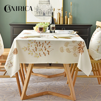 simanfei modern decorative table cloth rectangle tablecloth home kitchen square printing party banquet dining table cover CANIRICA Table Cloth Waterproof Tablecloth Rectangular Dining Table Cover Modern Kitchen Obrus Mantel Mesa Nappe Decorative Gift