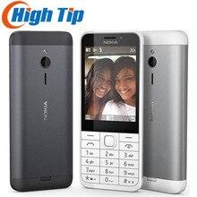 """Разблокированный Nokia 230 Dual SIM GSM 2,"""" 2MP 360P одноядерный дешевый мобильный телефон Восстановленный мобильный телефон"""
