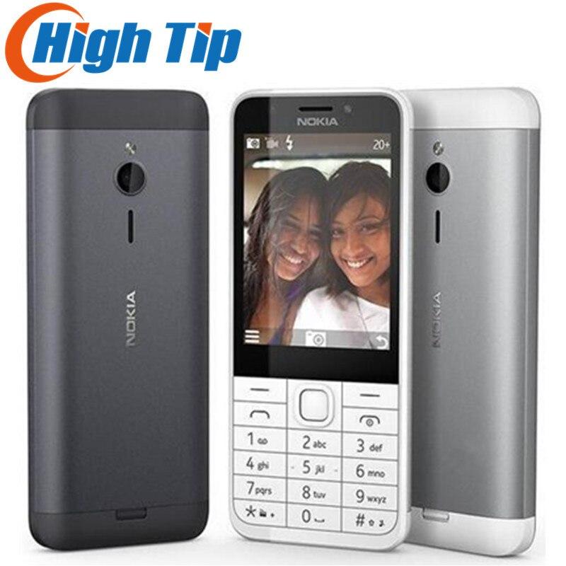 "Unlocked Original Nokia 230 Dual SIM GSM 2.8""  2MP 360P Single Core Cheap Cellphone Refurbished Mobile Phone Free Shipping"
