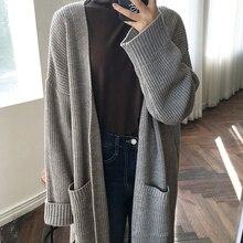 Harajuku Long Cardigan Ladies 2018 Spring Fashion