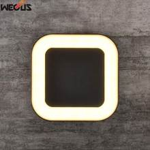 Современный алюминиевый светодиодный настенный светильник наружный