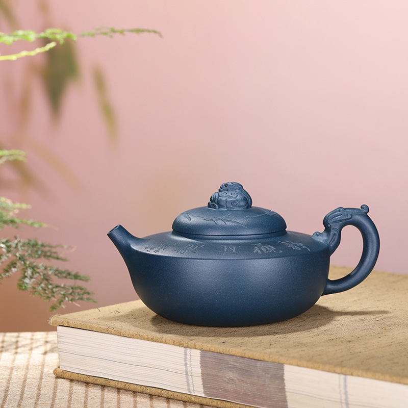 Yixing recommended undressed ore azure mud suez energy yulong teapot tea manufacturers selling a undertakes to giftYixing recommended undressed ore azure mud suez energy yulong teapot tea manufacturers selling a undertakes to gift