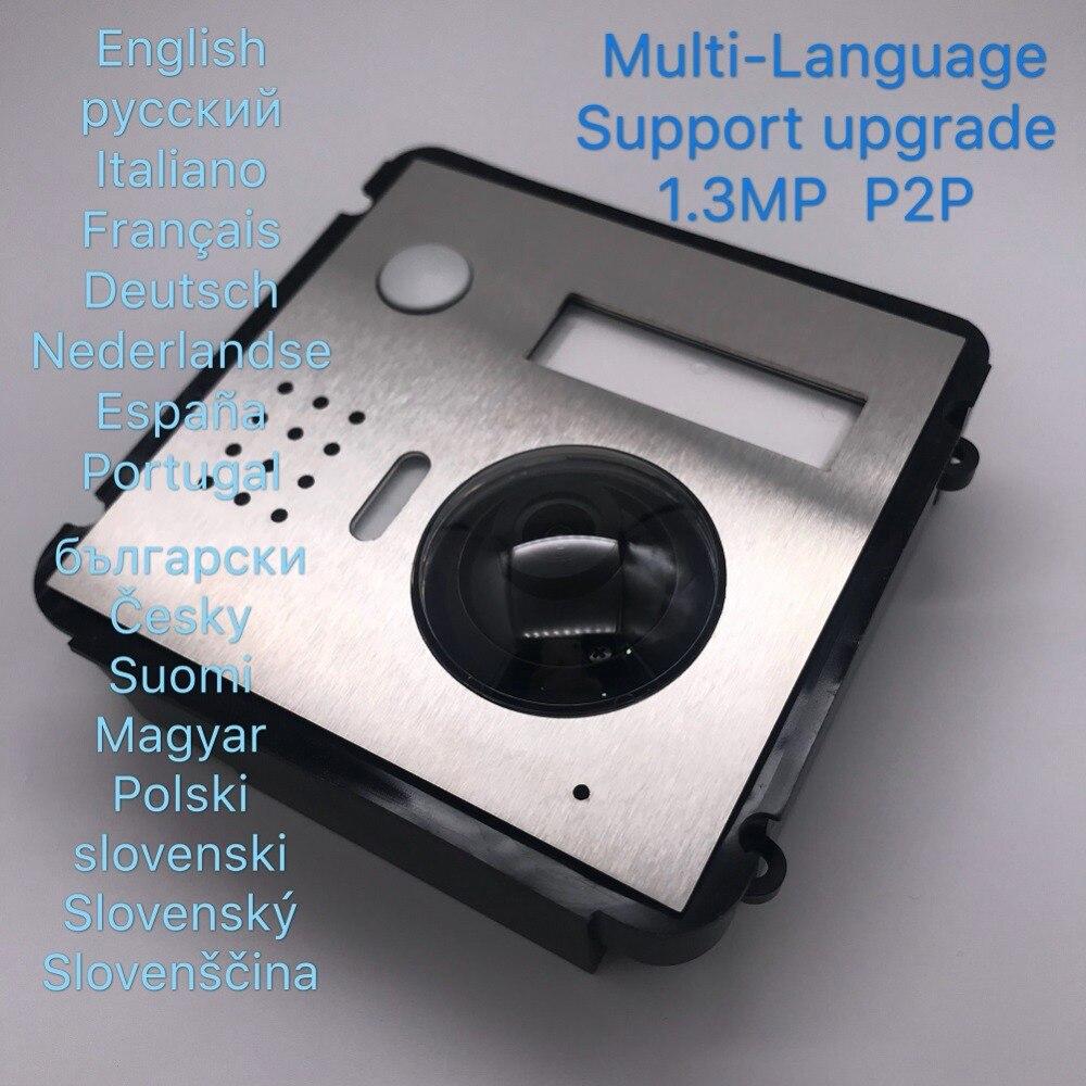 Sonnette de Module IP de Villa de VTO2000A-C multilingue d'ahua, interphone vidéo, interphone de porte, imperméabilisation, Station extérieure de Villa en métal de nuage - 2