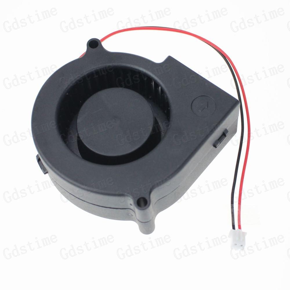 цены на 1pcs Gdstime 12V 75x30mm 75mm x 30mm 7530S DC Brushless Heat Sinks Cooling Exhaust Blower Cooler Fan в интернет-магазинах