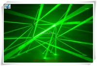 Free Shipping 6 Pieces 8x10w Rgb Laser Moving Head Led Spider Beam