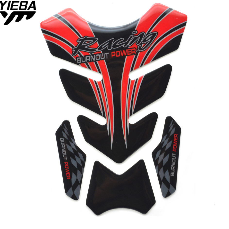 Motorcycle Sticker Moto Gas Fuel Tank Protector Pad Cover Decoration