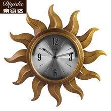 Настенные часы краткое стиль часов немой кварцевые часы
