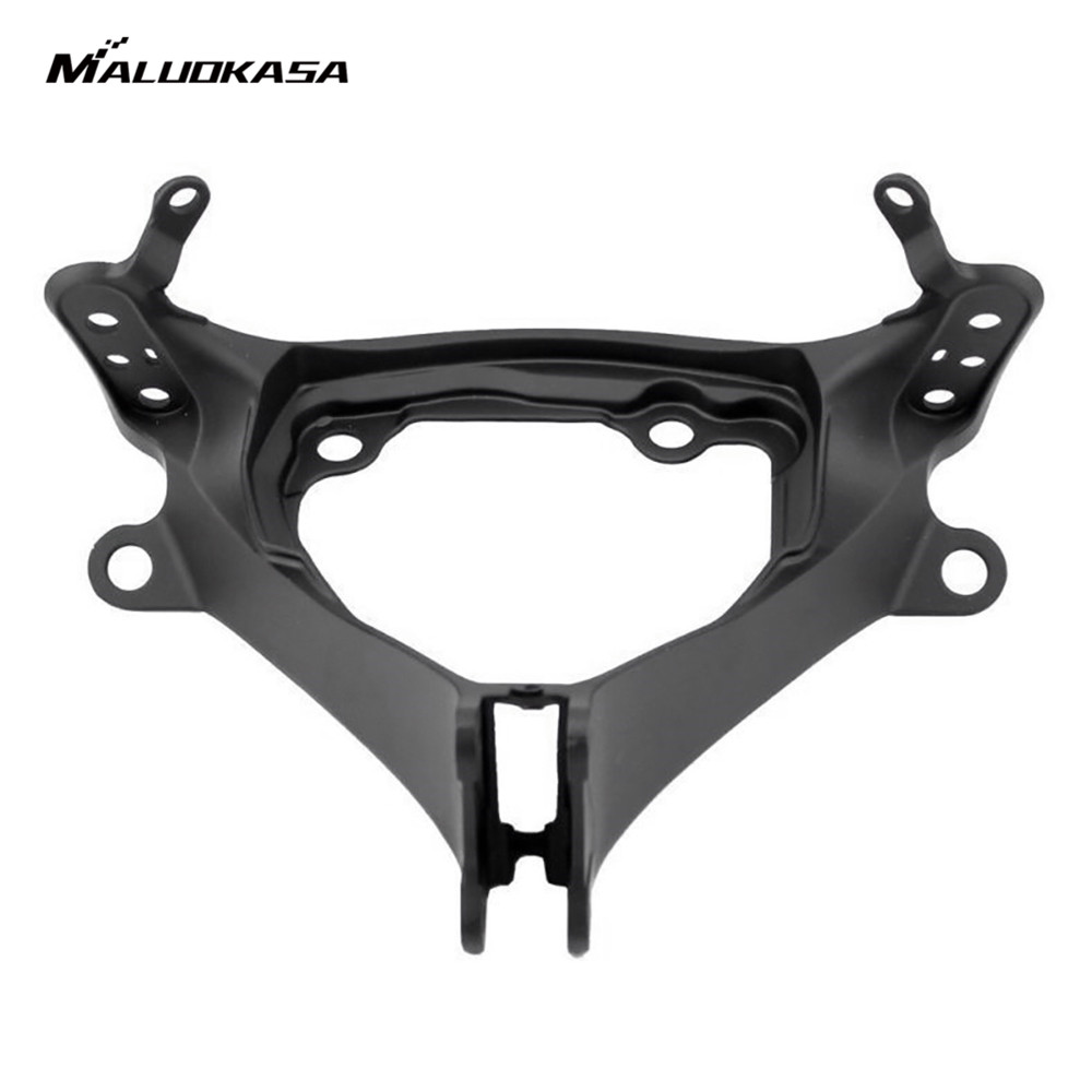 MALUOKASA Motorcycle Upper Front Fairing Cowl Stay Headlight Bracket For Suzuki GSXR600 2011-2015 Suzuki GSXR750 2011-2015 Moto