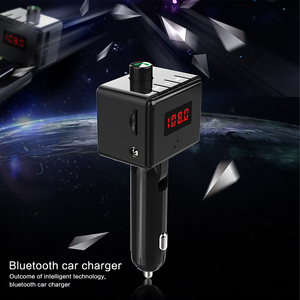 Image 1 - B36 Wireless Car Kit Bluetooth Aux interface MP3 Player Rotatable Bluetooth ual USB Ports Car Charger Intelligent Current Output