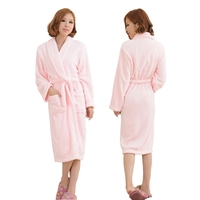Women Men Sleepwear Robe Thicken Warm Winter Shower Spa Robes Bath Bathrobe Sleep Nightgown Couple Dressing Gown