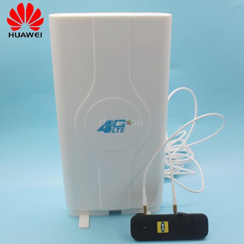 Débloqué Huawei E3372 E3372s-153 150 Mbps avec antenne 4G modem 4G modem USB 4G LTE USB Dongle Stick Datacard PK K5150