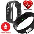 M2 inteligente bluetooth pulsera banda vs mi banda de la presión arterial de oxígeno oxímetro frecuencia cardíaca inteligente muñequera rastreador de ejercicios smartband