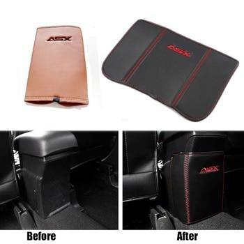 Reposabrazos de coche, protector de asiento trasero, decoración Interior para Mitsubishi ASX 2011 a 2017, accesorios de estilismo para coche