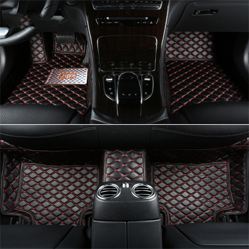 For Mazda 3 Mazda 3 2004 2005 2006 2007 Right & Left Hand Drive Car front rear Floor Mat carpets Pad cover 2004 2006 for bmw x5 e53 2004 2005 2006 accessories interior leather carpets cover car floor foot mat floor pad 1set