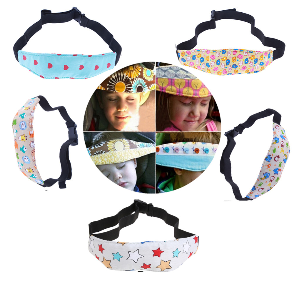 Baby Fixing Band Baby Safety Infant Head Support Pram Stroller Safety Seat Fastening Belt Adjustable Playpens Sleep Positioner