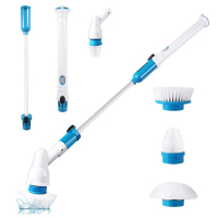 Multi function Electric Cleaning Brush Wireless Electric Long Handle Cleaner Household Cleaning Tools