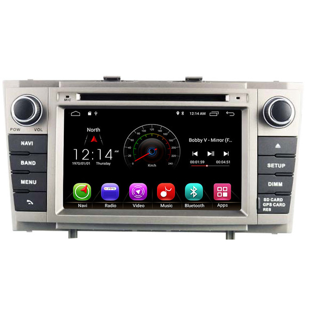 2 Din <font><b>Android</b></font> 8.1 Car DVD Player For <font><b>Toyota</b></font> Avensis <font><b>T27</b></font> 2009-2014 Wifi GPS Radio 2GB RAM 16G ROM Quad Cores Multimedia USB image