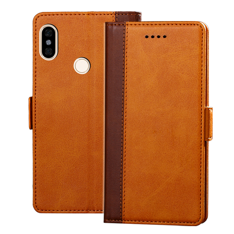 Luxury Leather Flip Case For Redmi NOTE 5 3GB+32GB 4GB+64GB Wallet Stand Leather Case Cover On Redmi NOTE5 Pro 6+64GB