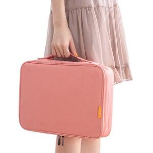 Дорожная сумка для хранения документов, водонепроницаемая сумка-Органайзер для документов