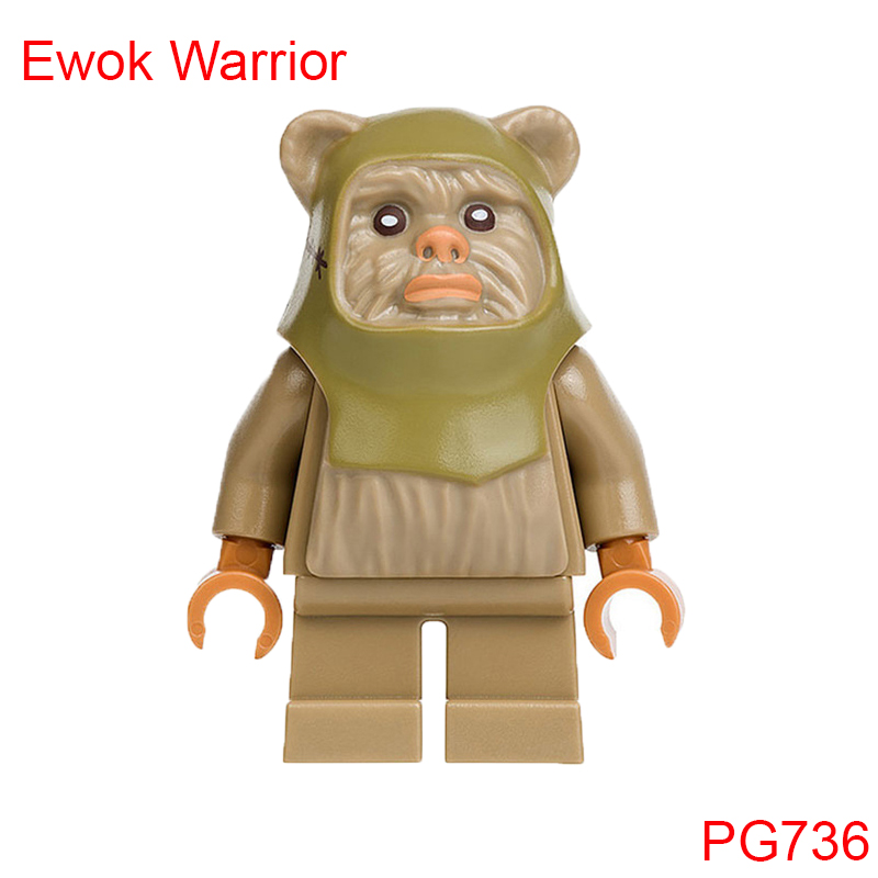 Ewok Warrior With Bow And Arrow Building Blocks Star Wars 75097 Star Wars Advent Calendar Set Brick Toys For Kids