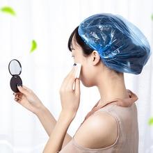 050 Disposable shower waterproof headgear cap adult female kitchen oil household bath hair