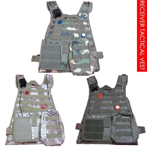 Laser Tag Receiver Tactical V E S T, Four Receiver Sensors, Three Color