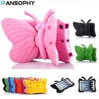 EVA Antichoc Cas pour iPad Mini 2 3 4 Bande Dessinée 3D Papillon Stand Table Cas pour iPad mini 4 Kids Safe Cas funda mini 2 capa