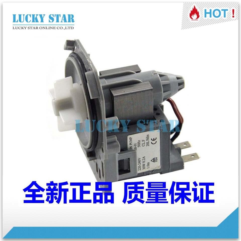 ФОТО for Siemens washing machine parts EWS1050 drain pump motor 30W