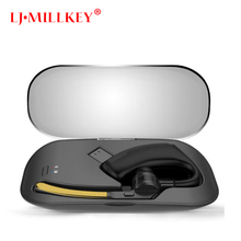 Wireless Bluetooth headset Business Hands free earphone headsets With Mic Stereo With Charging Box Mini LJ