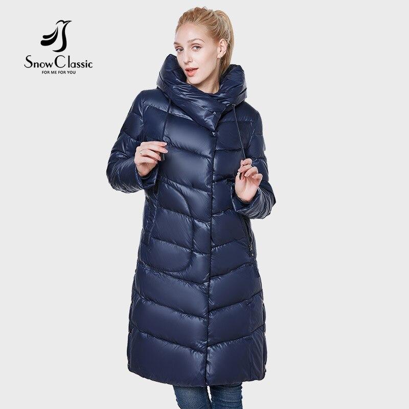 2018 куртка женщин camperas mujer abrigo invierno пальто женщин парк большой карман носить шляпу толстые теплые европейский дизайн