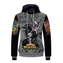 2019 Boku no Hero Academia 3D Men Cotton Hoodies Sweatshirt Cute Hoodie Printed for Kids Boys Fans