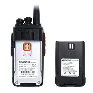 Image 5 - 2019 New Baofeng BF C5 Plus. Walkie Talkie 5W UHF 400 470MHz Two Way Radio Portatile 16CH FM ricetrasmettitore Radio CB Interphone