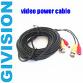5m 16.7ft CCTV Camera Accessories BNC Video Power Siamese Cable for Surveillance DVR Kit cctv system