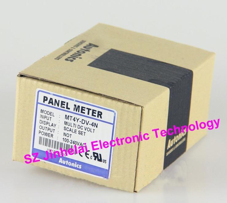 все цены на  100% New and original  MT4Y-DV-4N  Autonics  PANEL METER  онлайн